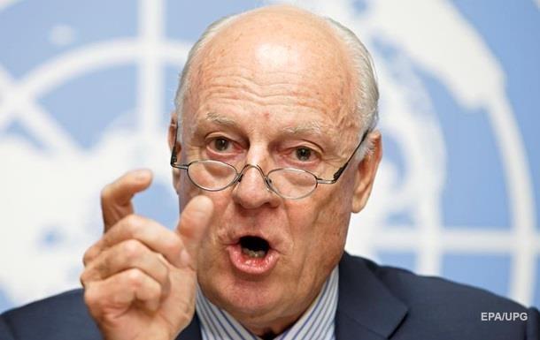ООН: Раунд переговоров по Сирии провалился