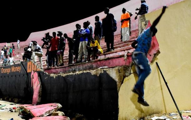 Вісім осіб загинули в тисняві на стадіоні в Сенегалі