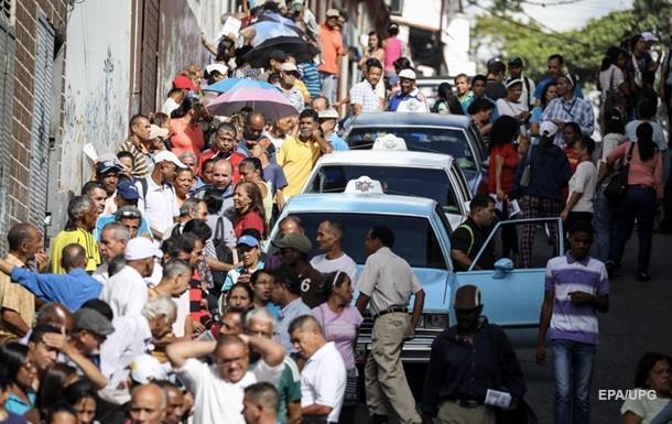 В ходе народного референдума в Венесуэле застрелили человека