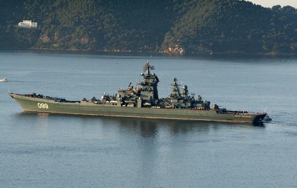 СМИ: Россия перебрасывает крейсер на Балтику