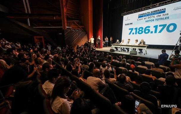 У Венесуелі підбили підсумки народного референдуму