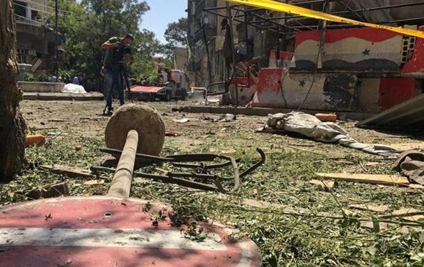 Посольство РФ в Дамаске попало под обстрел