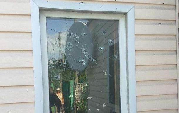 Полиция показала результаты обстрела Золотого