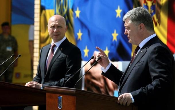 Порошенко: Київ підсобить Молдові по Придністров'ю