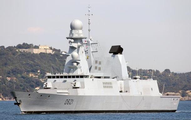 В Черное море вошел фрегат ВМС Франции