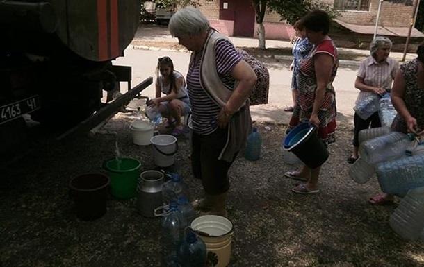 МінАТО: На Донбасі немає якісної питної води