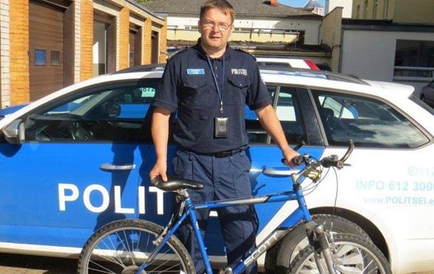 Полиция Эстонии нашла украденный 14 лет назад велосипед