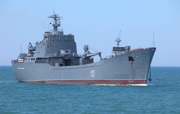 В Средиземное море вошел десантный корабль ВМФ РФ