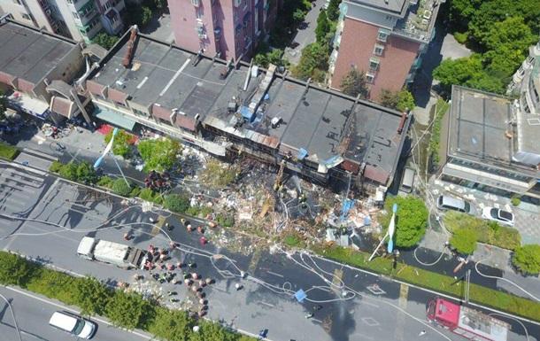В Китае более 50 человек пострадали при взрыве газового баллона