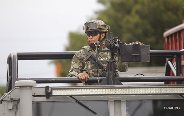 У Мексиці стався бій між морськими піхотинцями і бандитами