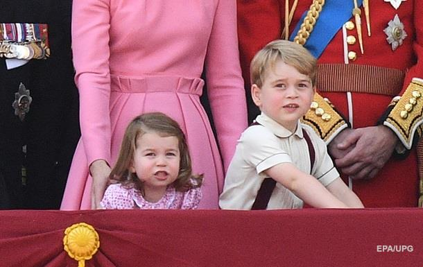 Появился новый официальный портрет британского принца Джорджа