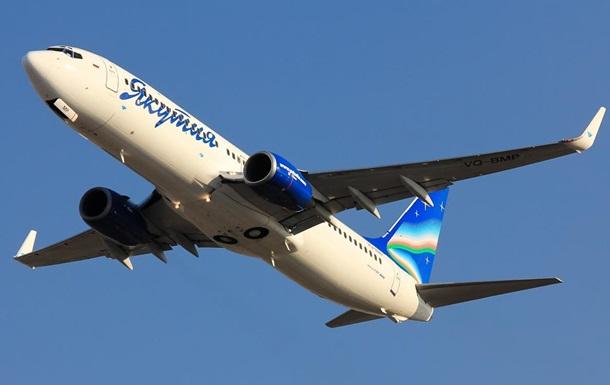 В самолете, летевшем из Крыма, произошла разгерметизация