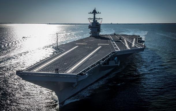 Трамп ввів до складу флоту новітній авіаносець