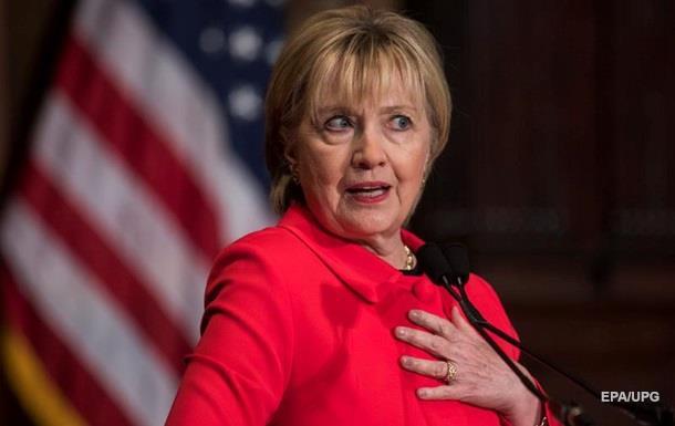 Демократы пояснили поражение Хиллари Клинтон