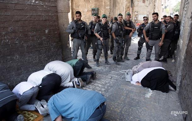 Тисячі мусульман відмовилися молитися на Храмовій горі