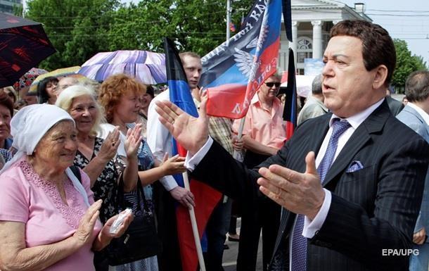 Кобзон вже не є Почесним громадянином Слов янська