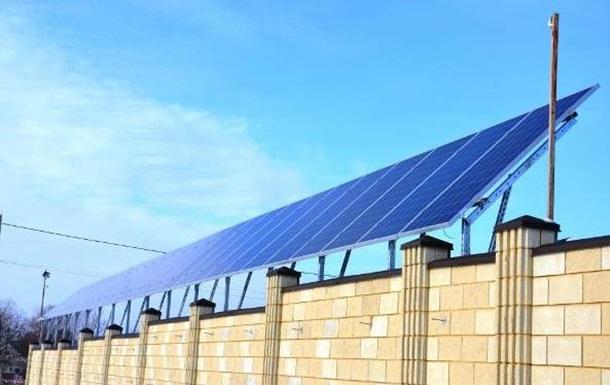 Введена в эксплуатацию солнечная электростанция в Днепропетровской области