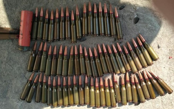 У жителя Житомира нашли склад боеприпасов