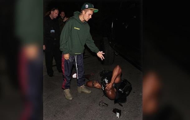 Джастін Бібер збив на своєму авто журналіста