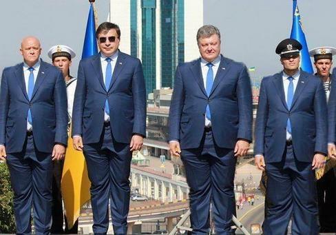 Порошенко лишил Саакашвили гражданство Украины.  А ЕГО ТО ЗА ЧТО?