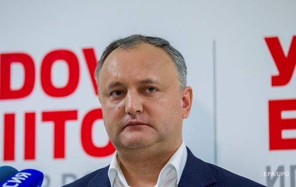 У Молдові суд заборонив референдум Додона