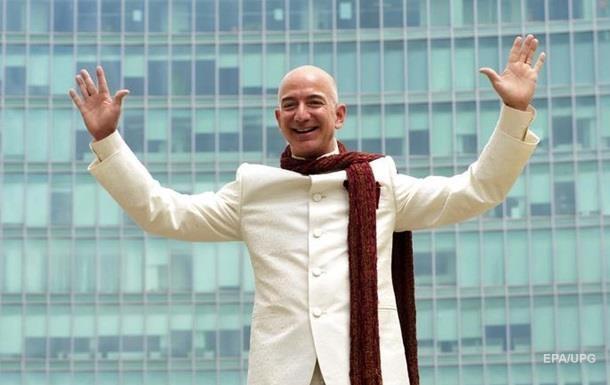 Творець Amazon став найбагатшим бізнесменом світу