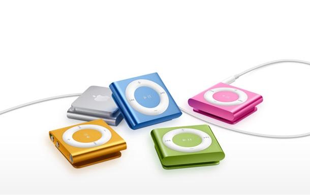 Apple прекращает продажи iPod Nano и iPod Shuffle