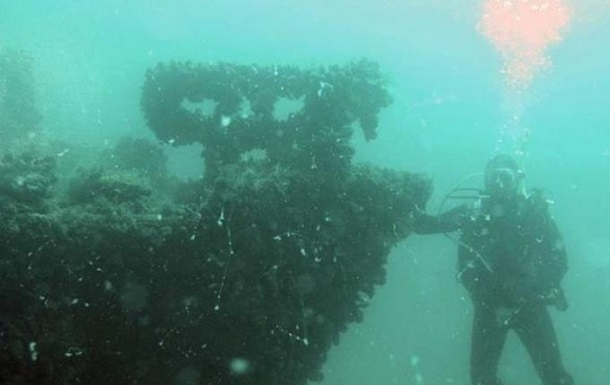 На Одещині виявили затоплене німецьке судно з боєприпасами