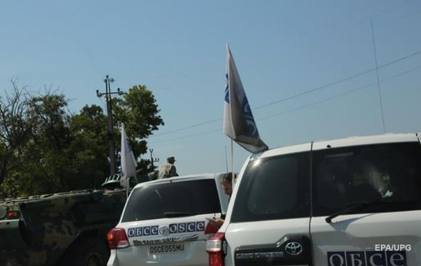 Штаб: Сепаратисты готовят теракты против ОБСЕ