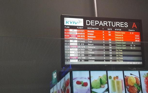 В аэропорту Киев скандал с Anda Air и Join Up