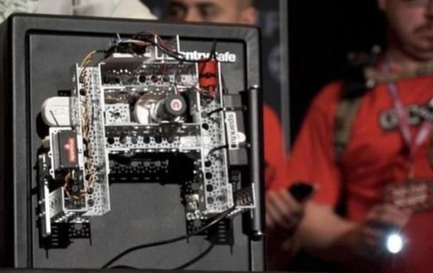 Робот за полчаса вскрыл сейф крупнейшего производителя