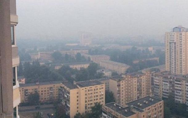Киевлян предупредили о метеорологической дымке
