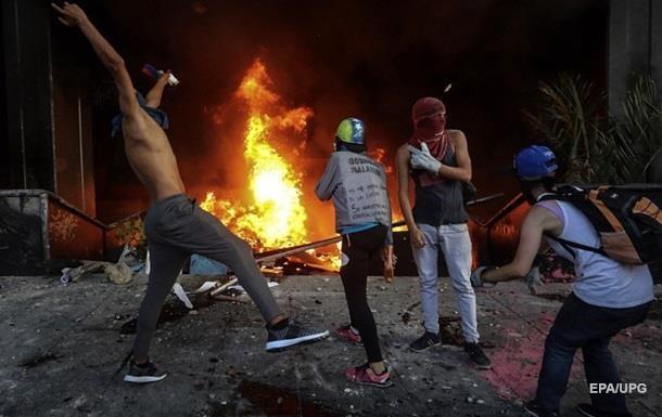 В Венесуэле напали на посольство Испании