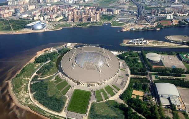 Спорудження стадіону в Пітері назвали божим чудом