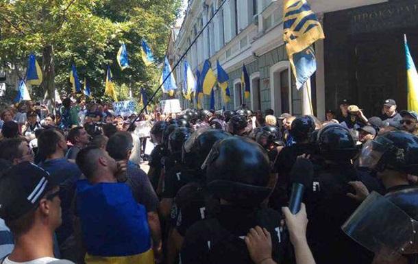 В Одесі напали на поліцейських