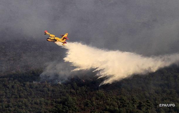 Власти Македонии ввели режим ЧС из-за пожаров