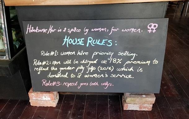 Женщинам дешевле: в Австралии кафе борется с неравенством