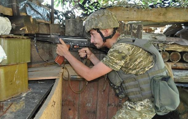 Доба в АТО: Один боєць загинув, двоє поранені