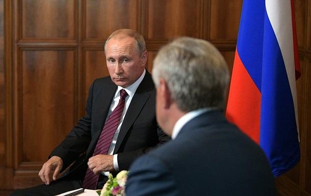 Годовщина войны с Грузией: Путин приехал в Абхазию