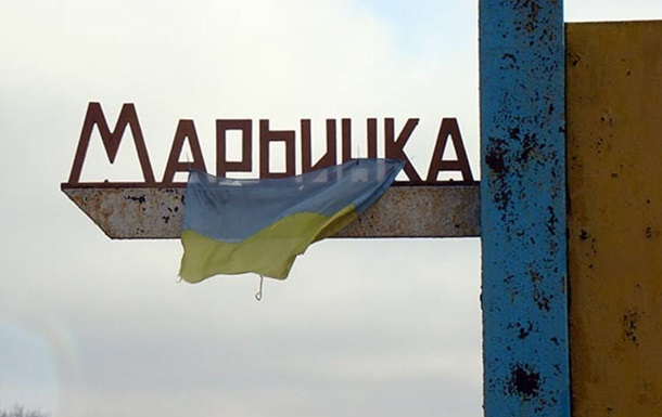 В Марьинке из-за обстрела произошел пожар