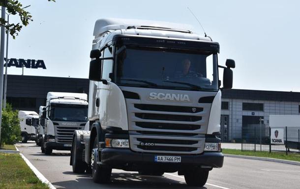 Молочную продукцию компании  Галичина  будут доставлять  современные грузовики Scania