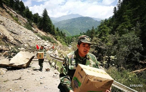 Землетрясение в Китае: Эвакуированы 60 тыс человек