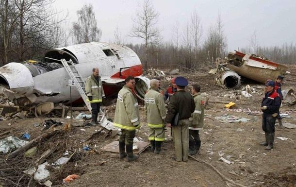 В РФ отвергают выводы о следах взрыва на самолете Качиньского