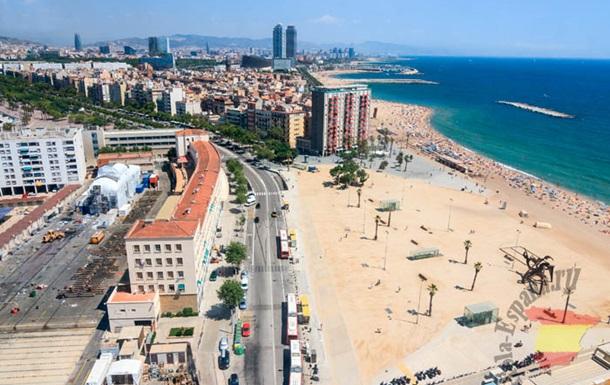 В Барселоне протестовали против туристов