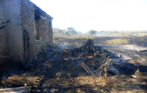 На Миколаївщині сталася масштабна пожежа