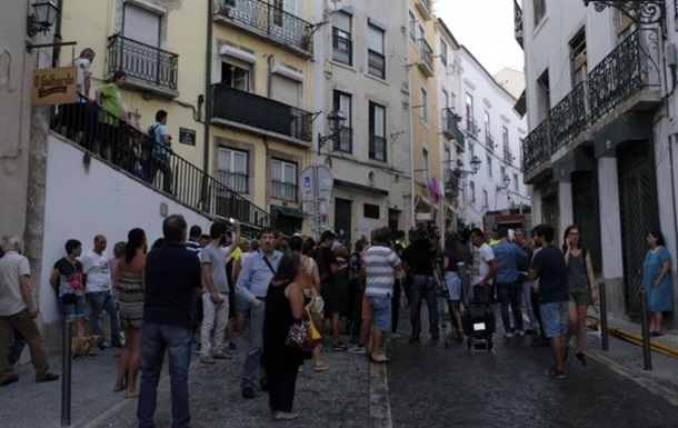 В Лиссабоне взорвался дом: пять пострадавших