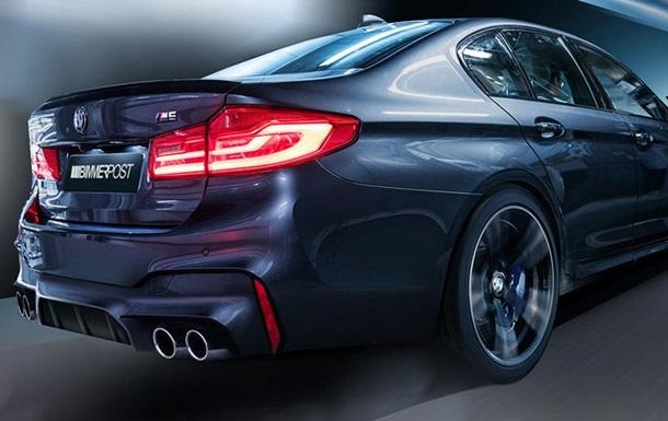 Обновленный седан BMW М5  засветился  в видео
