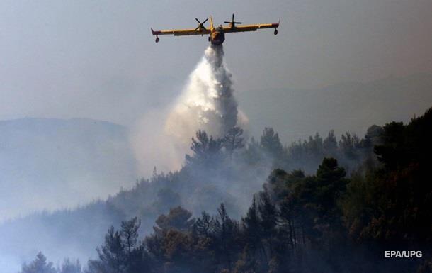 Греція просить ЄС про допомогу в боротьбі з лісовими пожежами