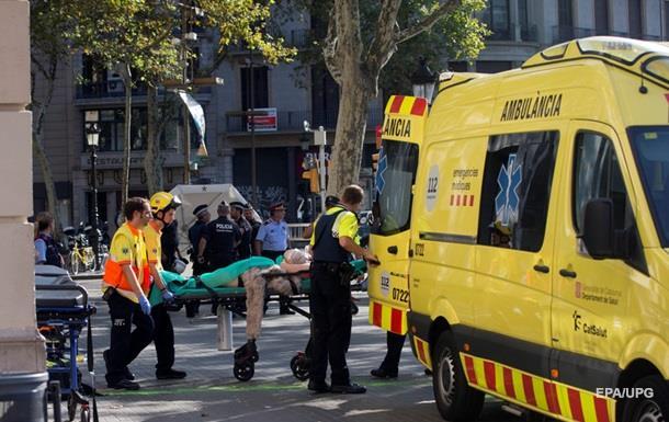 Теракт в Барселоне: число пострадавших превысило 100 человек