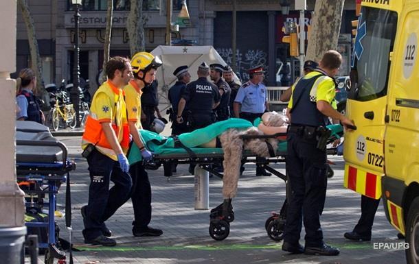 Теракт в Барселоне: умер еще один террорист